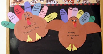 Thankful Turkeys adults