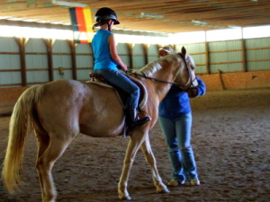 Riding Buttercup
